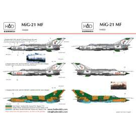 144022 Mig-21 MF decal sheet / matrica1:144