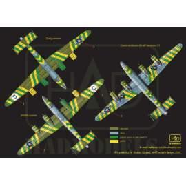 72155 B-24D Green Dragon USAF decal sheet 1:72