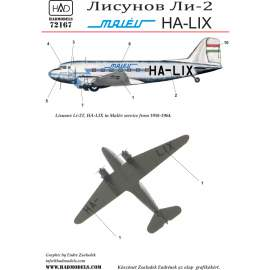 72167 Li-2 HA-LIX decal sheet 1:72