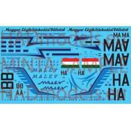 72190 IL-14M Hungarina Air Liner / Air Transport decal shet 1:72