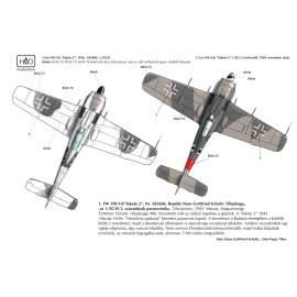 32043 FW-190 F-8 (Black 2) decal sheet 1:32