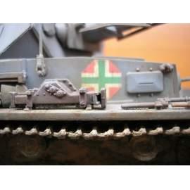 035003 Hungarian WW II part I. Panzer IV, Stug III., Ansaldo  decal sheet 1