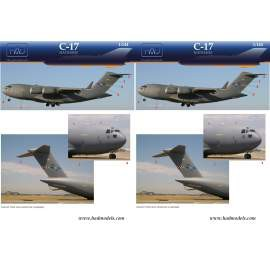144020 C-17 In Hungarian Service decal sheet  / matrica 1:144
