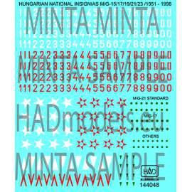 144048 Hungarian National insignias - Magyar felségjelek és számsorok 1958-