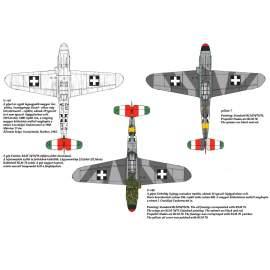 72065 Messerschmitt Bf 109 F-4/b matrica 1:72