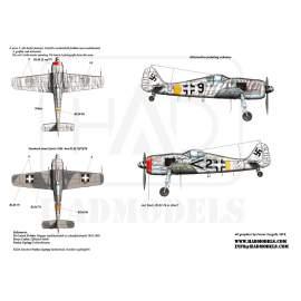 72083 FW-190 F-8 matrica 1:72
