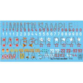 72172 Su-17 / 22 decal sheet 1:72