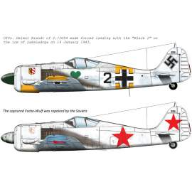 72179 FW-190 A-4 decal Sheet 1:72