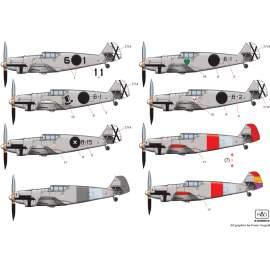 72184 Messerschmitt Bf 109 A  decal sheet 1:72