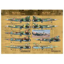 32032  MiG-23 MF / MLD decal sheet 1:32