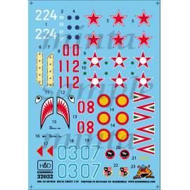 32032  MiG-23 MF / MLD decal sheet 1:32
