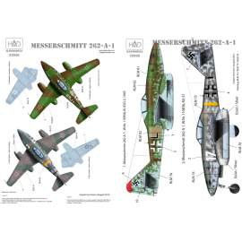 32036 Messerschmitt Me 262 A-1 decal sheet 1:32