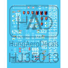 035013 Sa-6 Hungarian, Czech, Slovak) decal sheet 1:35