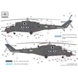 72198 Mi-24 V in Hungarian service from 2018 decal sheet 1:72