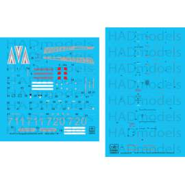 35008 Mi-24 V  + extra Stencils /dubble decal sheet 1:35