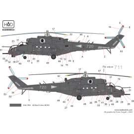 35009 Mi-24V NATO szürke festés 2018 -  matrica 1:35