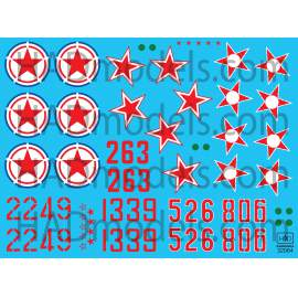 32064 MiG-15 bis decal sheet 1:32