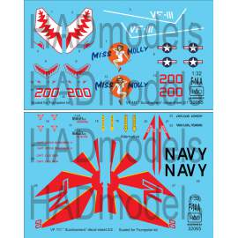 "32065 F-14A ""Miss Molly"" double decal sheet 1:32"