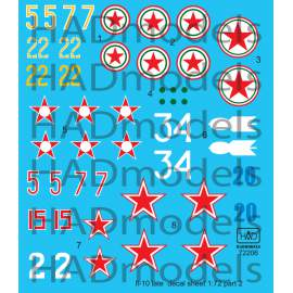 72206 IL-10 late Part 2 decal sheet 1:72