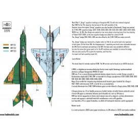 """32079 MiG-21 MF 9309 """"Dongó"""" Századjelzéses Csillagos felségjellel 1:32"""