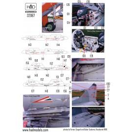 32067 MiG-29 orosz feliratú stencil dupla matrica 1:32