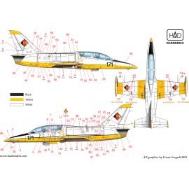 48204 Aero L-39 ZO és V matrica stencilekkel 1:48