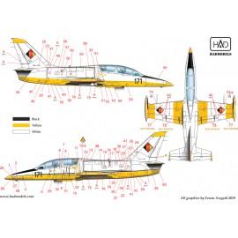 48203 Aero L-39 ZO és V matrica 1:48