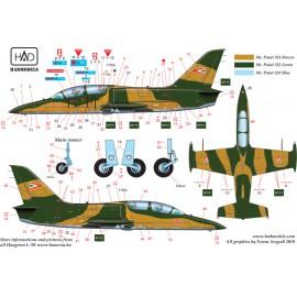 48201 Aero L-39 ZO in Hungarain service part 1 matrica 1:48