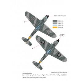48177 Messerschmitt Bf 109 G-14  / G-6 Trop matrica 1:48