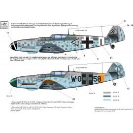 48174 Messerschmitt Bf 109 G-14 matrica 1:48