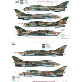 48172 Su-17/22 M3/M4 matrica 1:48