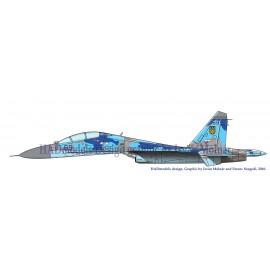 48164 Su-27 UB Matrica 1:48