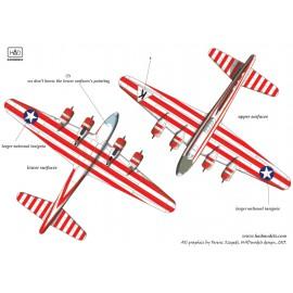 48161 B-17E  Birmingham Blitzkrieg USAAF matrica 1:48