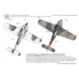 """48115 Fw-190 F-8 / A-8  (Luftwaffe """"black 2"""") matrica 1:48"""