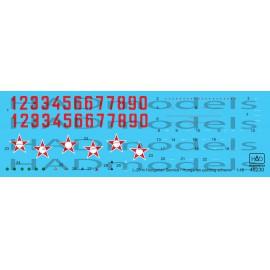 48230 L-29 Magyar festési séma  matrica 1:48