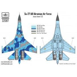 "32087 Su-27 UB Ukrán festésű ""69"" matrica 1:32"