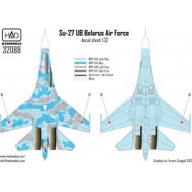 32088 Su-27 UB Belarus marica 1:32