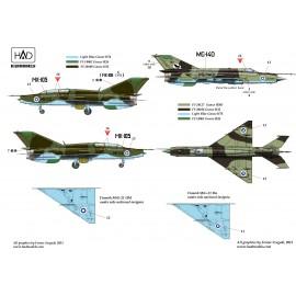 72180 MiG-21 Bis/UM  Finn Légierő matrica 1:72