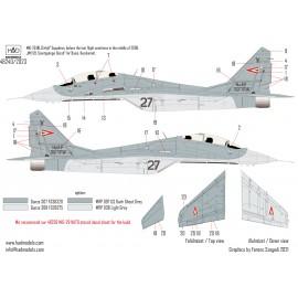 "48240 Magyar MiG-29 NATO Szolgálatban matrica 1:48  ""SOLO"" seria"