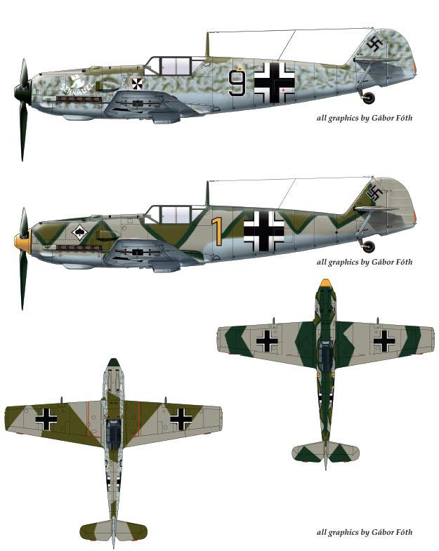 32052 Messerschmitt Bf 109 E-4 decal sheet 1:32